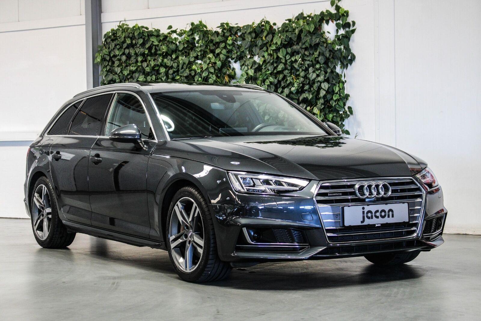 Audi A4 2,0 TDi 190 S-line Avant quat S-tr 5d - 3.820 kr.