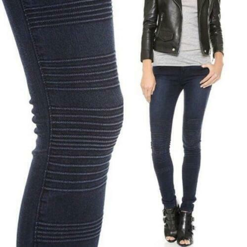 J BRAND  Willow VERVE Hollywood Stitched Detail MOTO skinny Jeans RARE 26