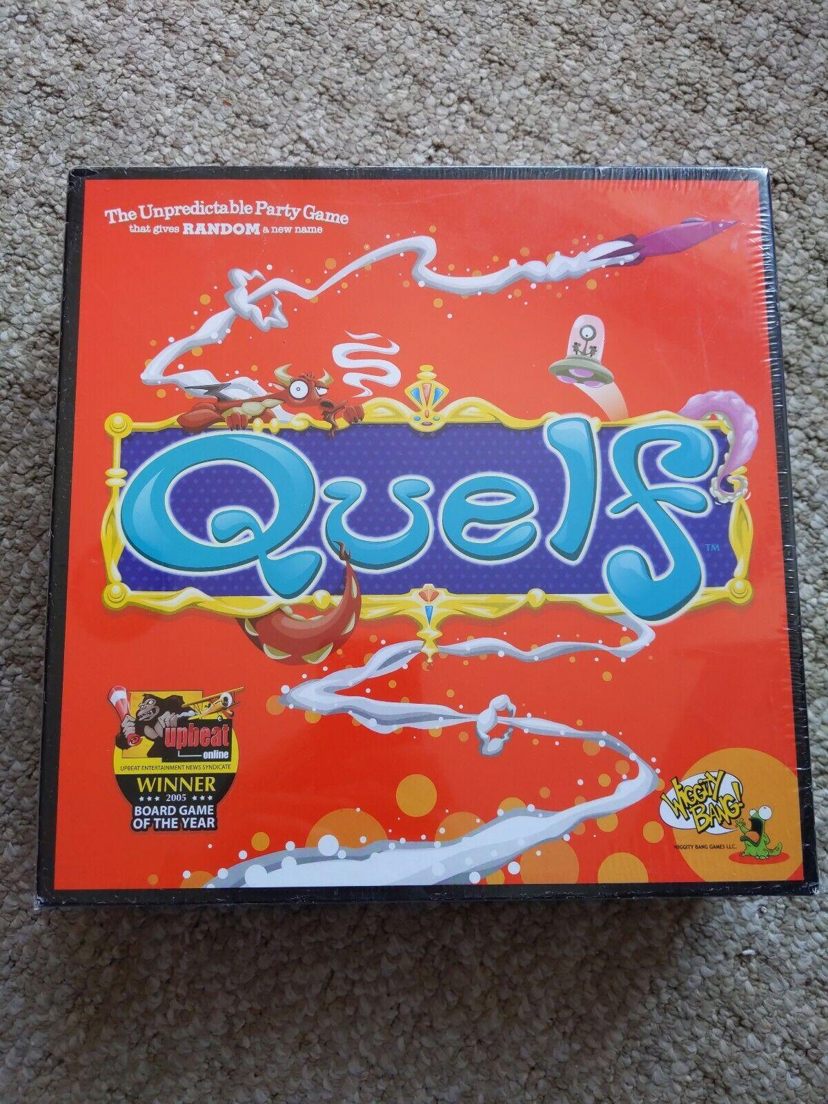 QUELF Den oförutsägbara Pkonsty Board spel 2006 rödigering Brand Nya förslutna
