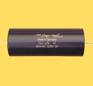 Mundorf MCap Supreme Silver/Gold/Oil Capacitors 2% 1000V (all values) - 1pcs