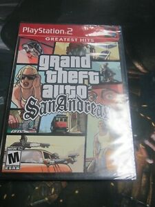 Details about Grand Theft Auto San Andreas Greatest Hits (Sony Playstation  2 PS2) New Sealed