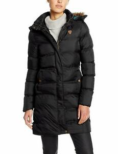New Ladies Winter Parka Metallic Shiny Puffer Hooded Padded Womens Jacket Coat