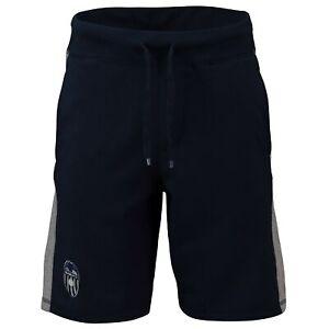 Valencia CF Embroidered Crest Shorts Navy Mens Football Fanatics