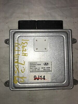 09 10 Hyundai Sonata 39100-2G330 Computer Brain Engine Control ECU ECM Module