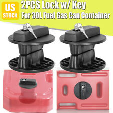 2pc Lock Mounting Brackets For 30l Fuel Tanks Can Gasoline Container Offroad Suv