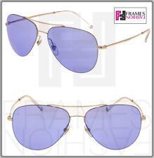 9161d33d5a762 GUCCI TECHNO 0500 Aviator GG2245S Gold Lilac Mirrored Sunglasses Unisex 2245