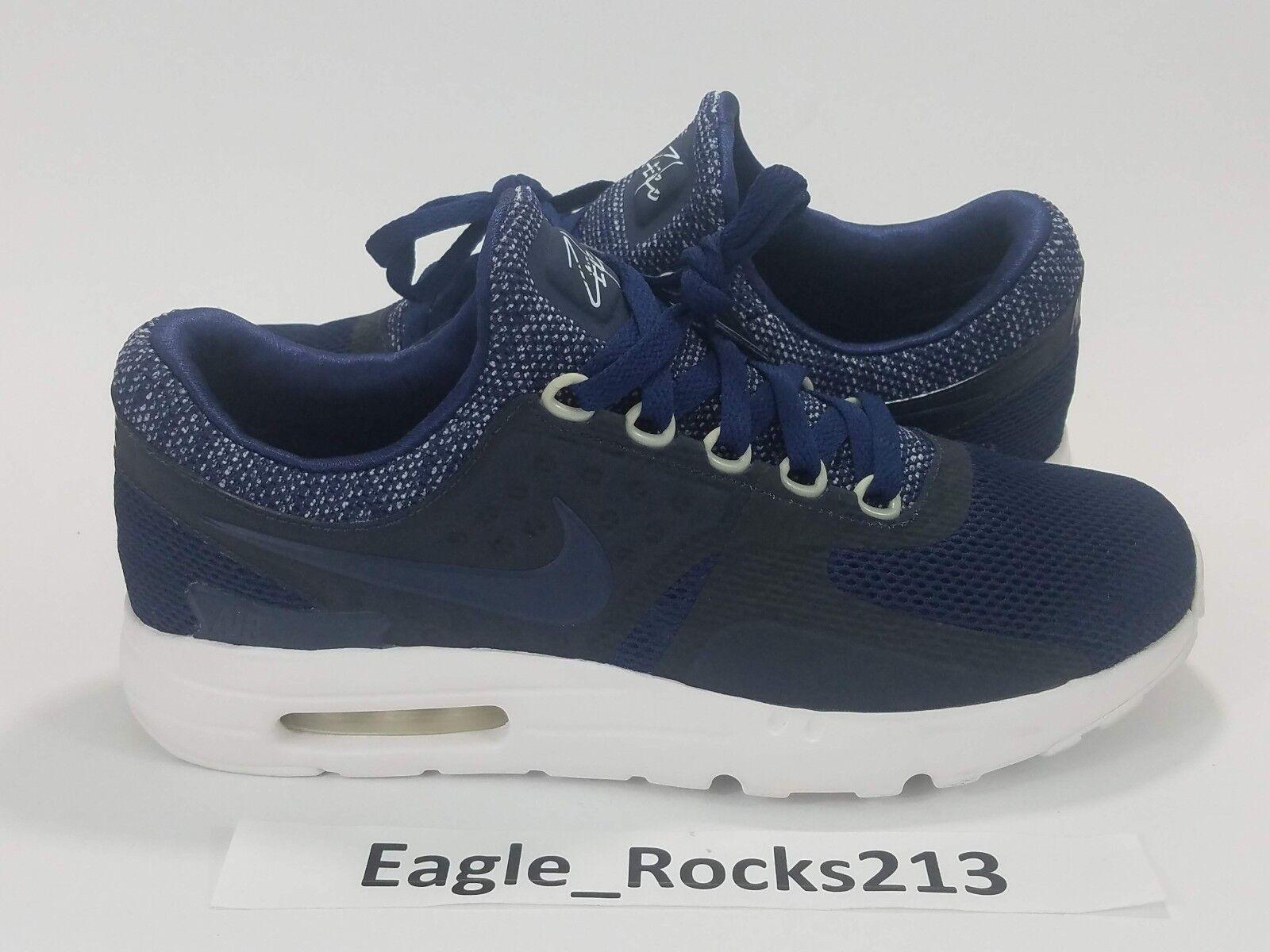 Nike air max zero br respiro Uomo 903892 marina bianchi scarpe taglia 9