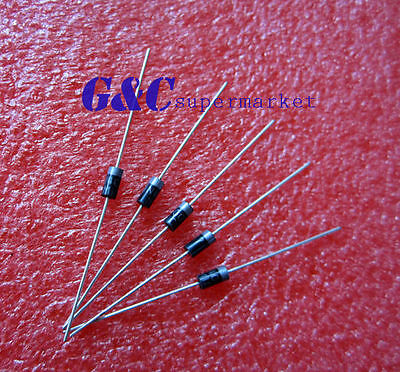 500pcs 1N4007 Diode MIC DO-41 1A 1000V Rectifie Diodes new good quality