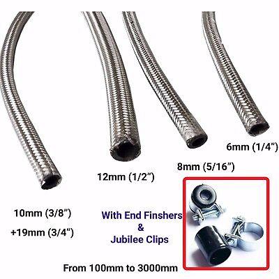 Tyagi Racing Stainless Steel Braided Brake PTFE Fuel Hose Line 3//8 10mm