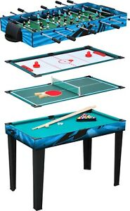 Small-Foot-4-in-1-Multifunctional-Table-11279-Snooker-Hockey-table-Tennis-Game