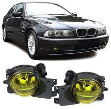 Luces antiniebla amarillo & Montaje Soportes Para BMW E39 5 Series 09/2000-05/2004