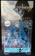 EVA 00 Blue Prototype Neon Genesis Evangelion Kaiyodo XEBEC Clear Figure New