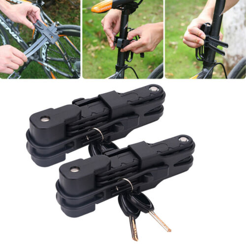 Password Folding Bike Cable Lock Strong Heavy Duty Cycle Security Bicycle Steel