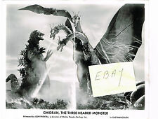 GODZILLA - GHIDRAH, THE THREE-HEADED MONSTER 1965 ORIGINAL MOVIE PHOTO JAPANESE