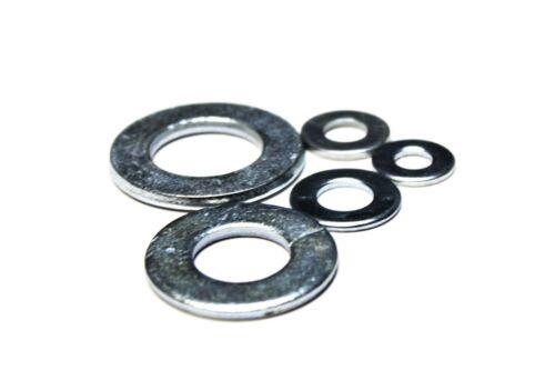 10 lbs 2,220 1//4 SAE Washers Zinc