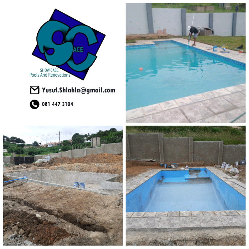 Show Case pools and renovations