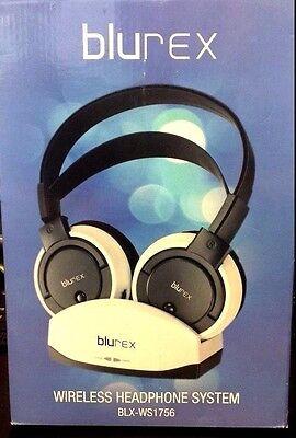 Used Blurex Wireless Headphones With Charging Dock(900mhz) BLX-WS1756