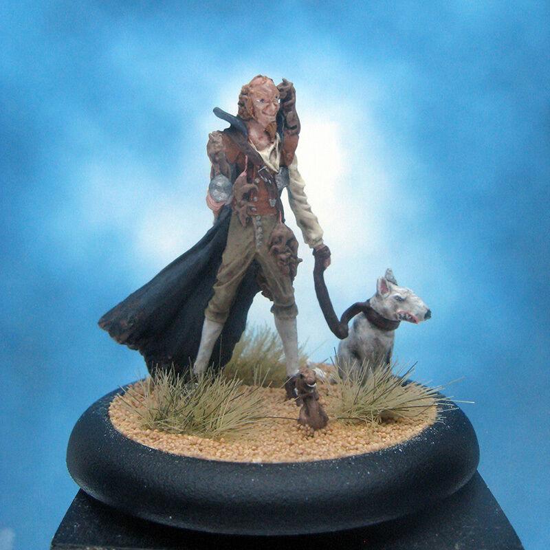 Målad Wyrd Miniatyr Hamelin Råttfångaren