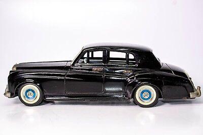 Spielzeug Neueste Kollektion Von Vintage Selten 597ms Rolls-royce Silvercloud Blech Reibung Limo