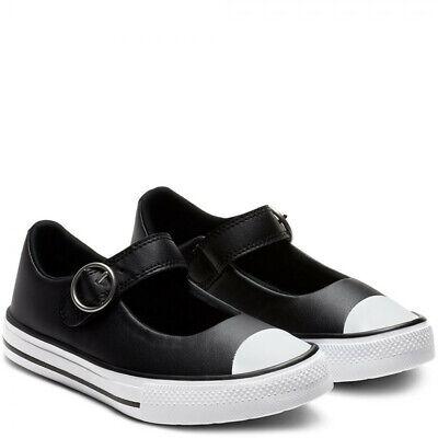 junior black converse