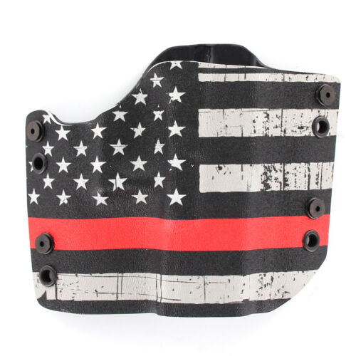 R/&R HOLSTERS USA Grunge Red Line OWB HOLSTER SPRINGFIELD