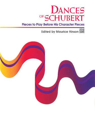 HINSON SCHUBERT//DANCES OF 4580 Piano Solo ALFRED