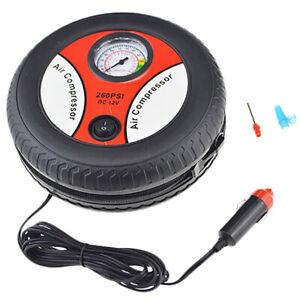 Tire-Inflator-Car-Air-Pump-Compressor-Electric-Portable-Auto-12V-Volt-260-Psi-L3