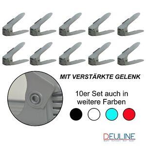Schuhstapler Schwarz 10X Verstellbarer Schuhregal Verstellbarer Schuhregal