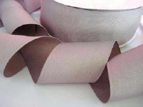 "Grey 10 yards Solid Grosgrain 2/"" Wide Ribbon//Wedding//US Seller GR20-14 Silver"