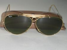 45d2395c13e CIRCA 1960 s BAUSCH   LOMB RAY-BAN GP RB3 TRU-GREEN SHOOTING AVIATOR  SUNGLASSES