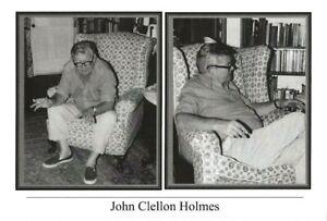 JOHN-CLELLON-HOLMES-OLD-SAYBROOK-CT-6-28-1981-BEAT-WRITERS-PHOTO-POSTCARD-25