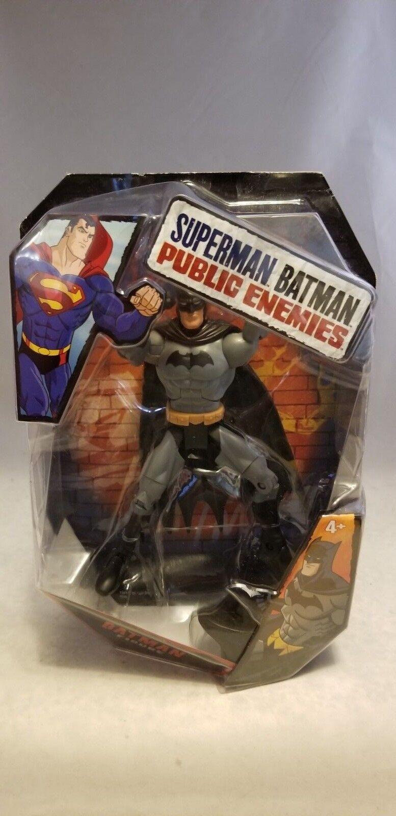 2009 SUPERMAN BATMAN PUBLIC ENEMIES BATMAN FIGURE
