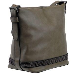ESPRIT-Damen-Tasche-Handtasche-Schultertasche-Umhaengetasche-Crossover-Bag-Neu