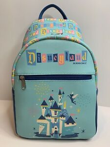 Disneyland-65th-Anniversary-Funko-Mini-Backpack-Castle-Tinkerbell-Mickey-Mouse