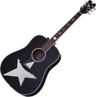 Schecter Robert Smith Rs-1000 Stage Acoustic Guitar Gloss Black