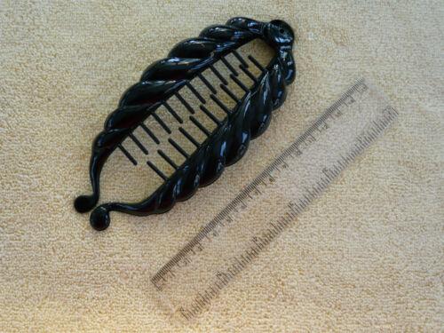 BANANA CLIP BLACK HAIR ACCESSORY//CLIP//GRIP//SLIDE