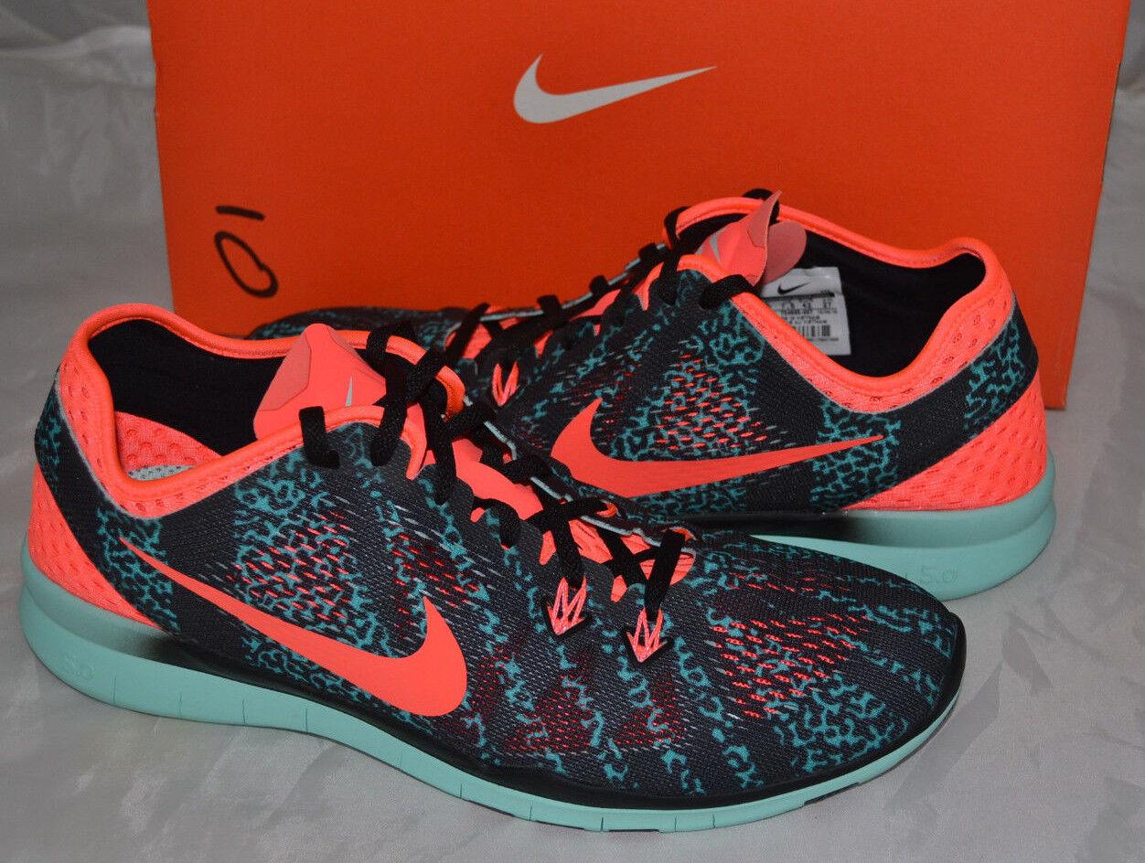 NIB Nike FREE 5.0 TR Fit 5 PRT Print Running Cross Trainers Shoes - 10