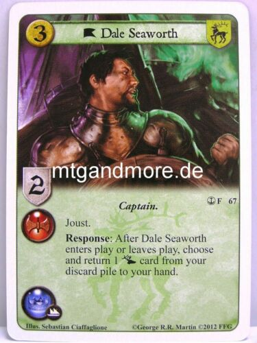 1x Dale seaworth #067 A Game of thrones lunaires a turn of the tide