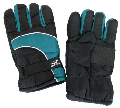 Winter Gloves Waterproof Thermal Wind Ski Warm Snow Sports Snow Thermal Mens New