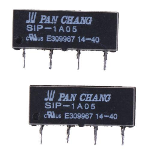 5 STÜCKE 4PIN 5 V Relais SIP-1A05 Reed Schalter Relais Für PAN CHANG RelTPI