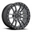 "thumbnail 3 - 20x9 Fuel D680 Rebel Gray Wheels Rims 33"" AT Tires Package 5x150 Toyota Tundra"