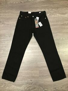 Levis-541-Made-in-USA-White-Oak-Mills-Cone-Denim-Jeans-Athletic-Fit-Black-29-x32