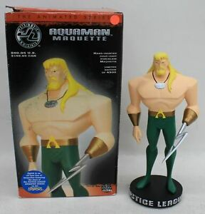 DC-DIRECT-Justice-League-Aquaman-Animated-Series-9-034-Macquette-1227-4500-NEW