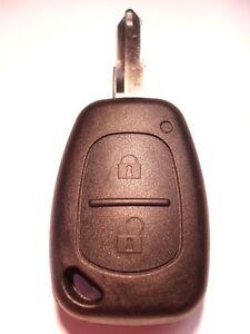 RECAMBIO-2-BOTONES-LLAVERO-carcasa-para-Vauxhall-Vivaro-Mando-a-distancia