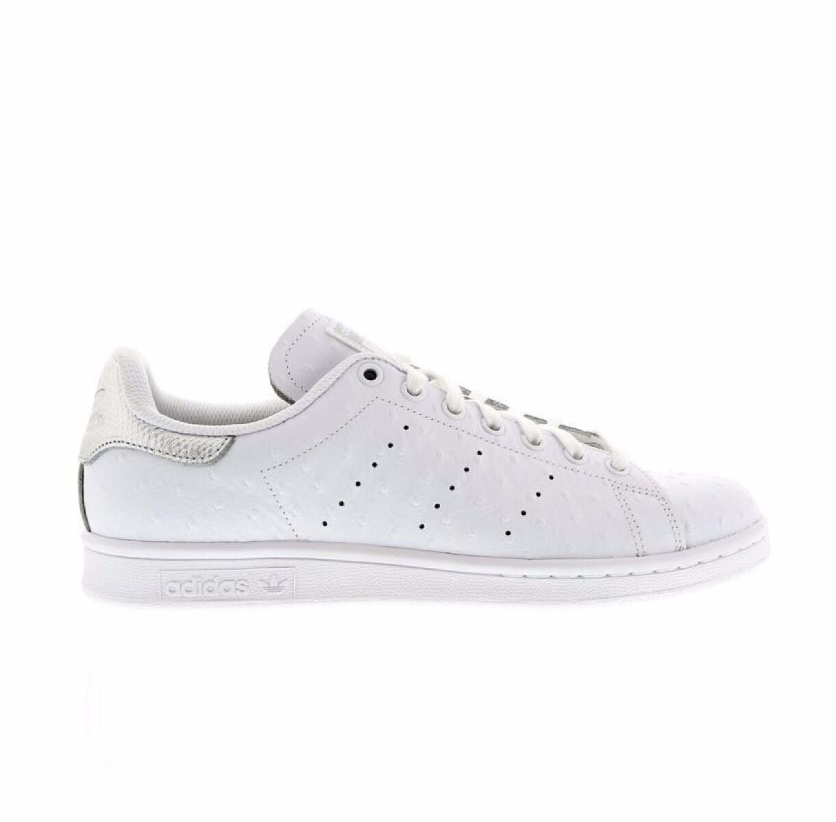 Adidas Stan Smith Hombres Zapatilla Zapato Tamaño 6.5 a 11.5 blancoo entrenador   -