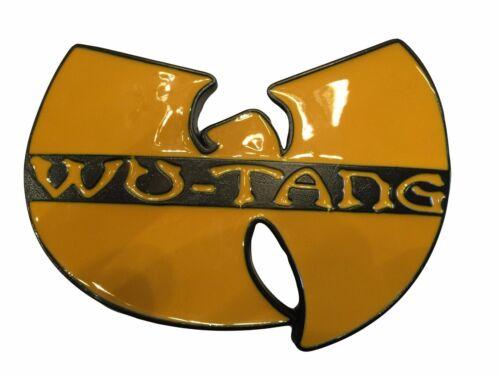 Wu-Tang Rap Group Name Logo Enamel Metal Belt Buckle