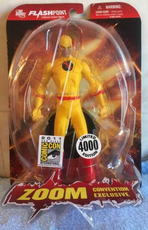 SDCC 2011 Comic Con Exclusive Flashpoint Professor Zoom Reverse Flash Figure