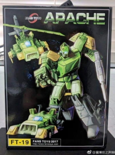 New instock Transformers Toy Fans Toys FT-19 Apache G1 Spring Action figure