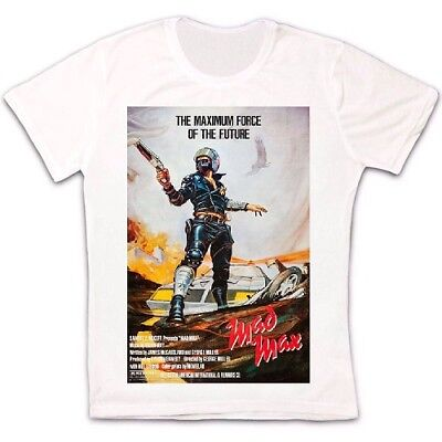 Mad Max Film Poster 70s Action Retro COOL  Unisex T Shirt B229