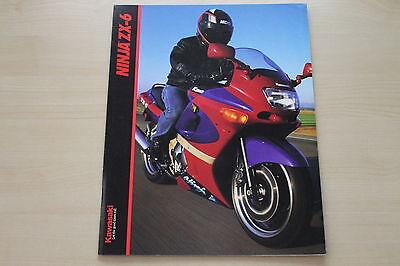 Objective 168583 Usa Prospekt 1992 Kawasaki Ninja Zx-6